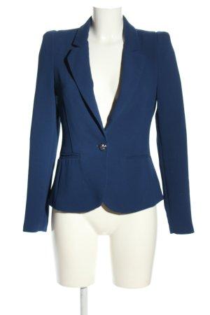 Ann Christine Korte blazer blauw zakelijke stijl