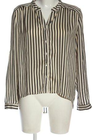 Ann Christine Long Sleeve Shirt natural white-black allover print casual look