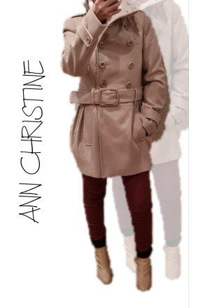 Ann Christine Giacca di lana sabbia