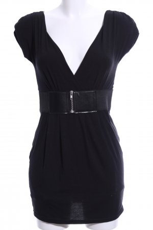 Ann Christine Mini Dress black elegant
