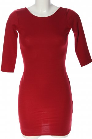 Ann Christine Minikleid rot Casual-Look
