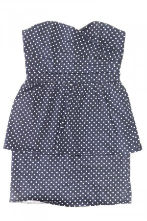 Ann Christine Mini-jurk blauw-neon blauw-donkerblauw-azuur