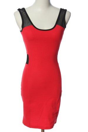 Ann Christine Mini Dress red-black casual look