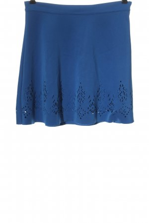 Ann Christine Mini rok blauw casual uitstraling