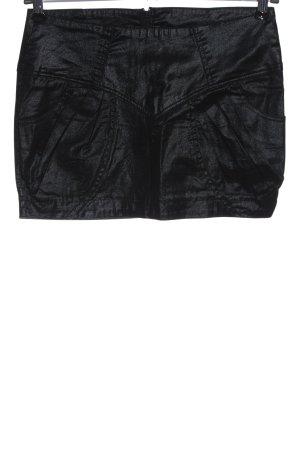 Ann Christine Mini-jupe noir élégant