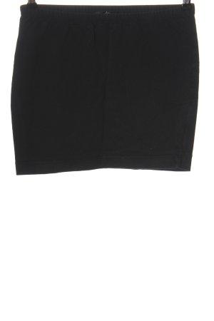 Ann Christine Mini rok zwart casual uitstraling