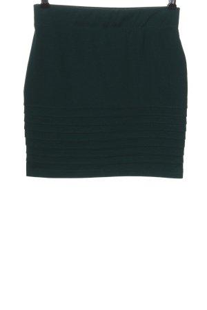 Ann Christine Mini-jupe vert style décontracté