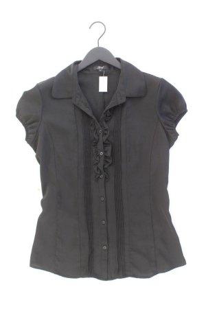 Ann Christine Ruffled Blouse black polyester