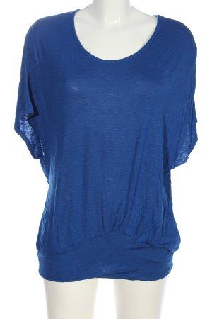 Ann Christine Schlupf-Bluse blau Casual-Look