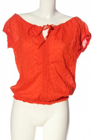 Ann Christine Slip-over blouse rood casual uitstraling