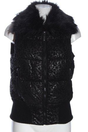 Ann Christine Smanicato sport nero-grigio chiaro motivo trapuntato stile casual