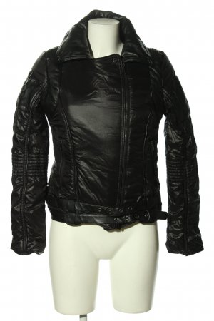 Ann Christine Steppjacke schwarz Casual-Look
