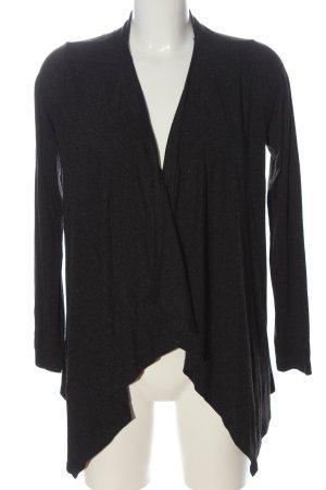 Ann Christine Knitted Cardigan light grey flecked elegant