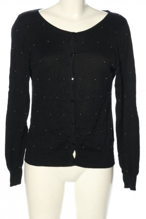 Ann Christine Cardigan black-gold-colored casual look