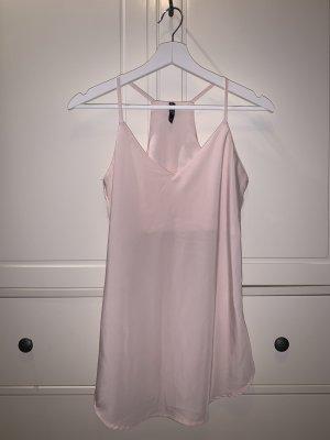 Ann Christine Blouse Top light pink mixture fibre