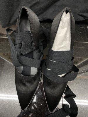 Ann Demeulemeester Escarpins à lacets noir