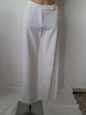 Ann Demeulemeester pantalón de cintura baja blanco puro Algodón