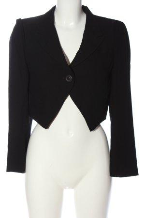 Ann Demeulemeester Short Blazer black business style