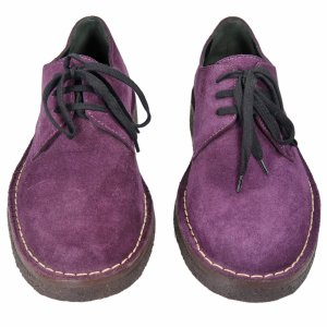 Ann Demeulemeester Lace-up shoes Suede in Violet