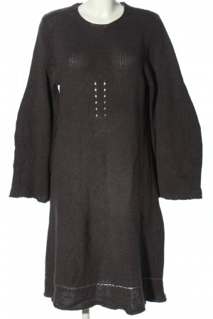 Ann Demeulemeester Woolen Dress light grey casual look