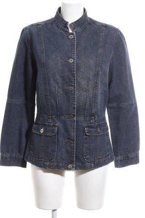 Ann LLewellyn Denim Jacket blue casual look