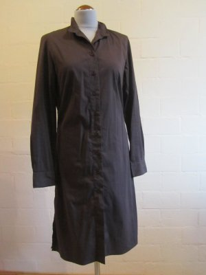 ANN LLEWELLYN: Klassisches Langarmkleid, gerade geschnitten, Gr. 38, braun