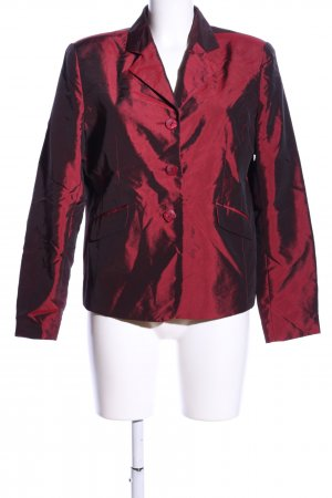 Ann LLewellyn Kurz-Blazer rot Elegant
