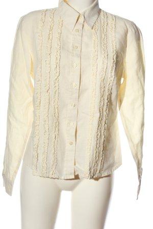 Ann LLewellyn Long Sleeve Shirt cream business style
