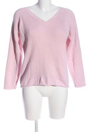 Ann LLewellyn V-Ausschnitt-Pullover pink Casual-Look