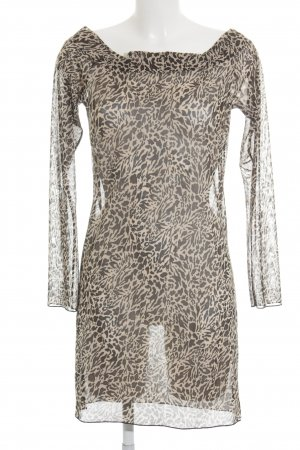 Ann Summers Vestido de manga larga estampado de leopardo