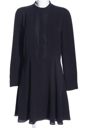 Ann Taylor Vestido camisero negro estilo «business»