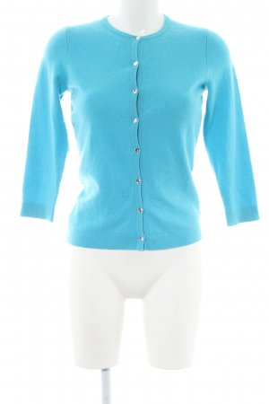 Ann Taylor Cardigan blauw casual uitstraling