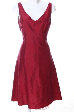 Ann Taylor Abito da cocktail rosso elegante