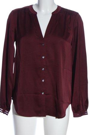 Ann Taylor Koszulowa bluzka czerwony W stylu casual