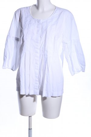 Ann Taylor Short Sleeved Blouse white casual look