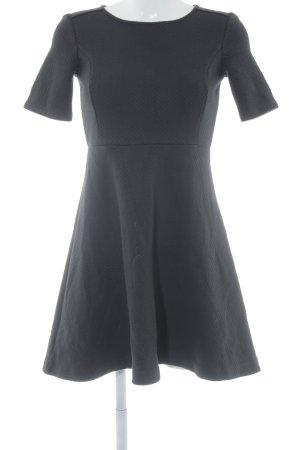 Ann Taylor Vestido de manga corta negro