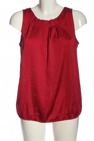 Ann Taylor LOFT Mouwloze blouse rood casual uitstraling