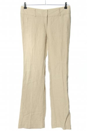 Ann Taylor LOFT Linen Pants cream casual look