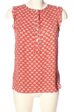 Ann Taylor LOFT Slip-over blouse volledige print casual uitstraling