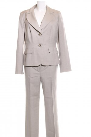Ann Taylor Hosenanzug hellgrau Business-Look