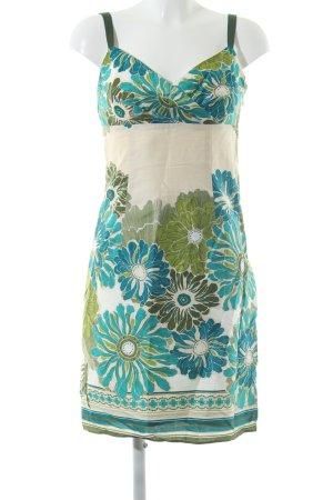 Ann Taylor Midi Dress flower pattern casual look