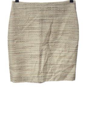 Ann Taylor Spódnica mini w kolorze białej wełny-czarny Melanżowy