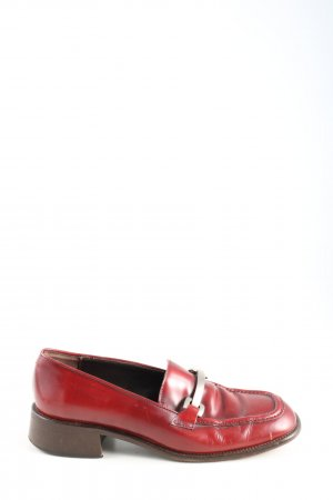 Ann Taylor Moccasins red casual look