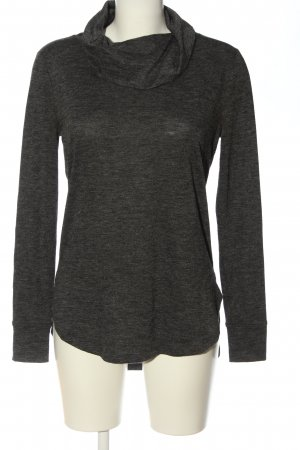 Ann Taylor Turtleneck Shirt light grey flecked casual look