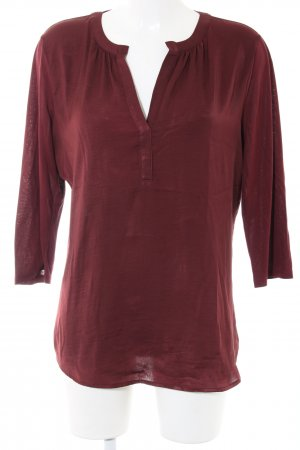 Ann Taylor Schlupf-Bluse rot Business-Look