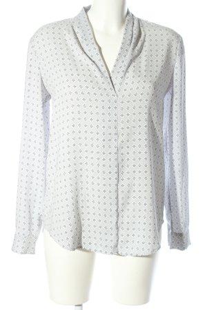 Ann Taylor Slip-over Blouse light grey allover print casual look