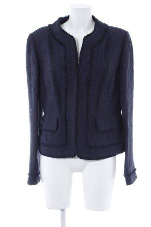 Ann Taylor Knitted Blazer dark blue