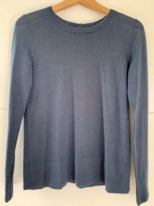 Ann Taylor Pull tricoté bleu pétrole