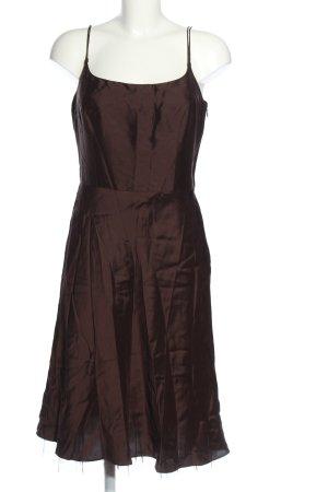 Ann Taylor Trägerkleid braun Elegant