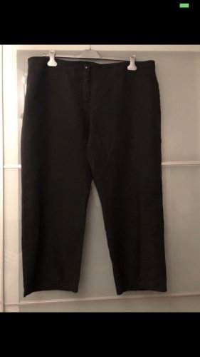 Anna Aura Linen Pants black